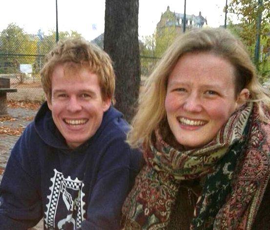 Helmut und Louisa lächeln in die Kamera